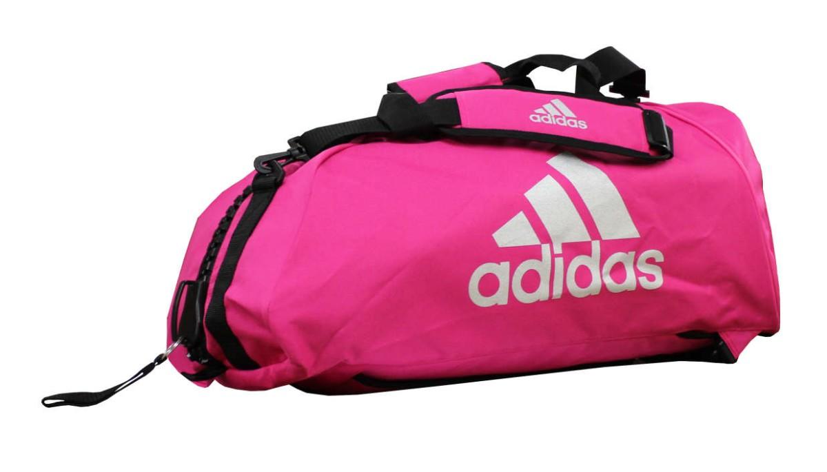 adidas Sporttasche - Sportrucksack pink/silber