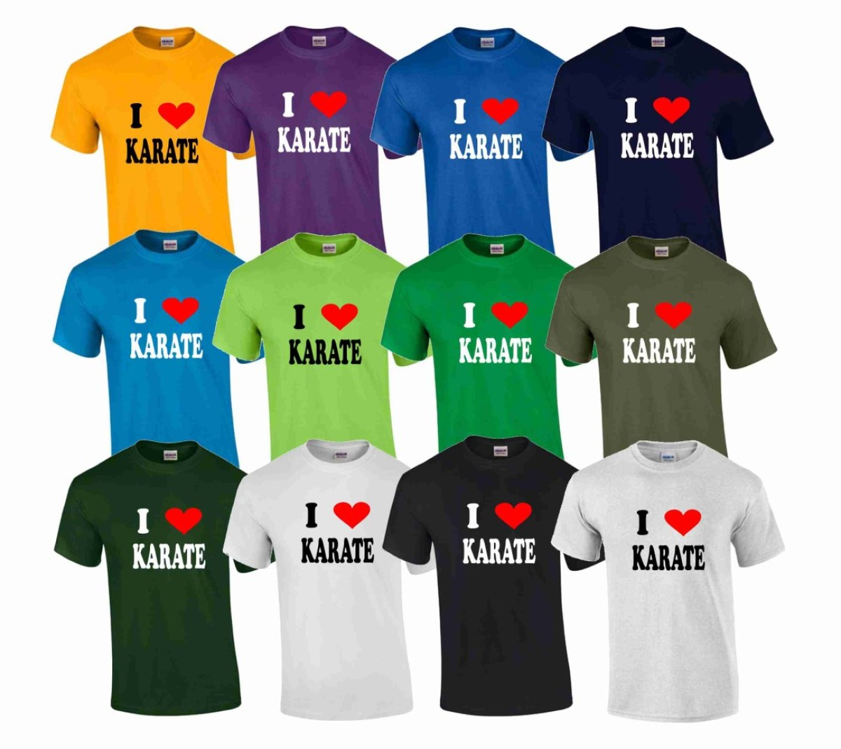 T-Shirt I Love Karate