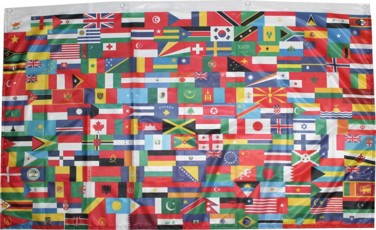 drapeau du monde nations