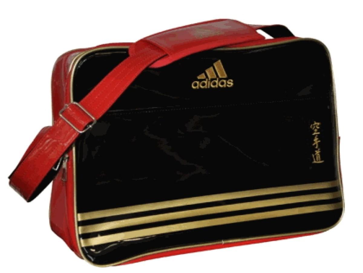 4f41ee1d22 Adidas shoulder bag black red gold paint - S.B.J - Sportland
