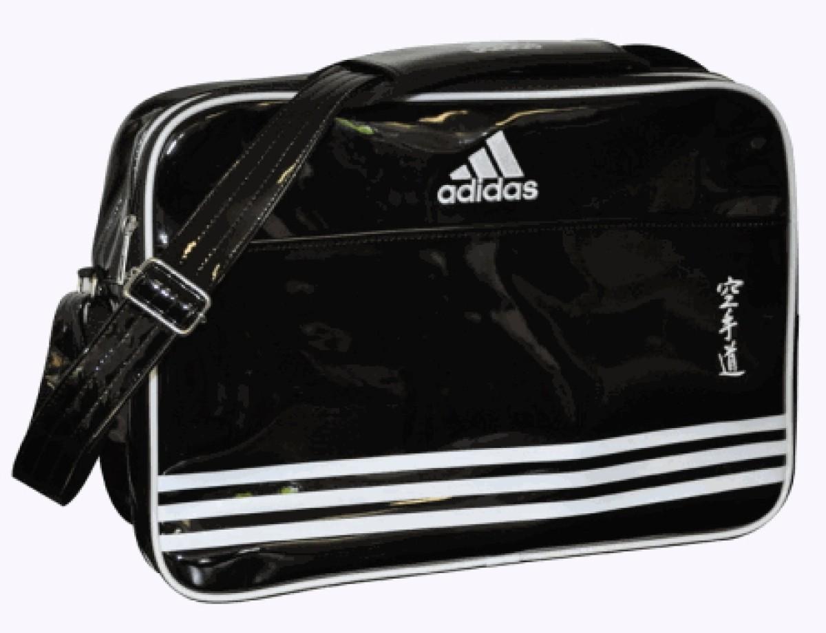 295137e20fd3 Adidas shoulder bag black white paint - S.B.J - Sportland