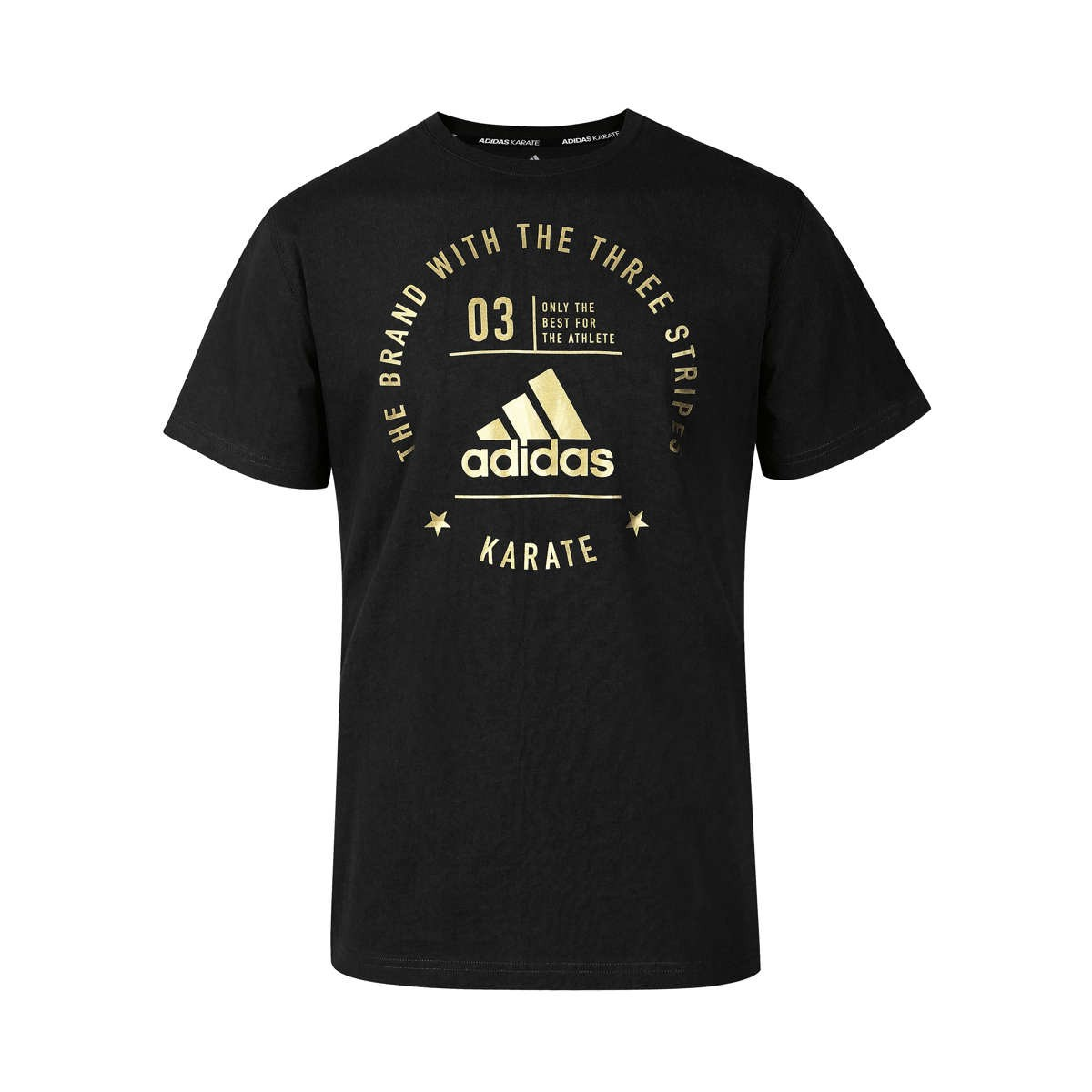 adidas Community T-Shirt Karate schwarz/gold