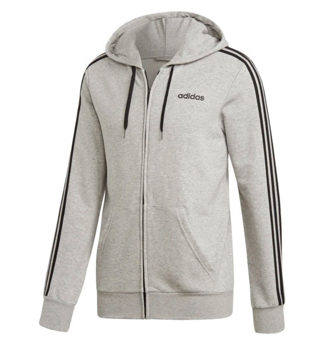 adidas sweater jacket grey