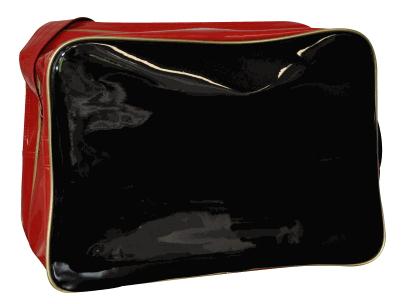 adidas umh ngetasche schwarz rot gold lack s b j. Black Bedroom Furniture Sets. Home Design Ideas