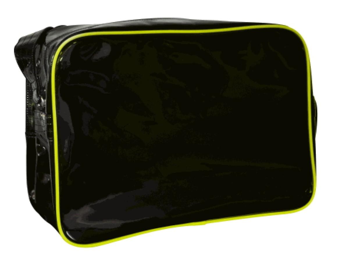 f084a1f33192 Adidas shoulder bag black Day-Glo yellow paint - S.B.J - Sportland