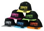 Snapback képi - Karate live it - feel it