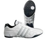 Adidas shoe Adilux white with silver stripes