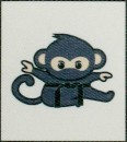 Ceinture patch monkey