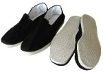 Tai chi shoes with material sole